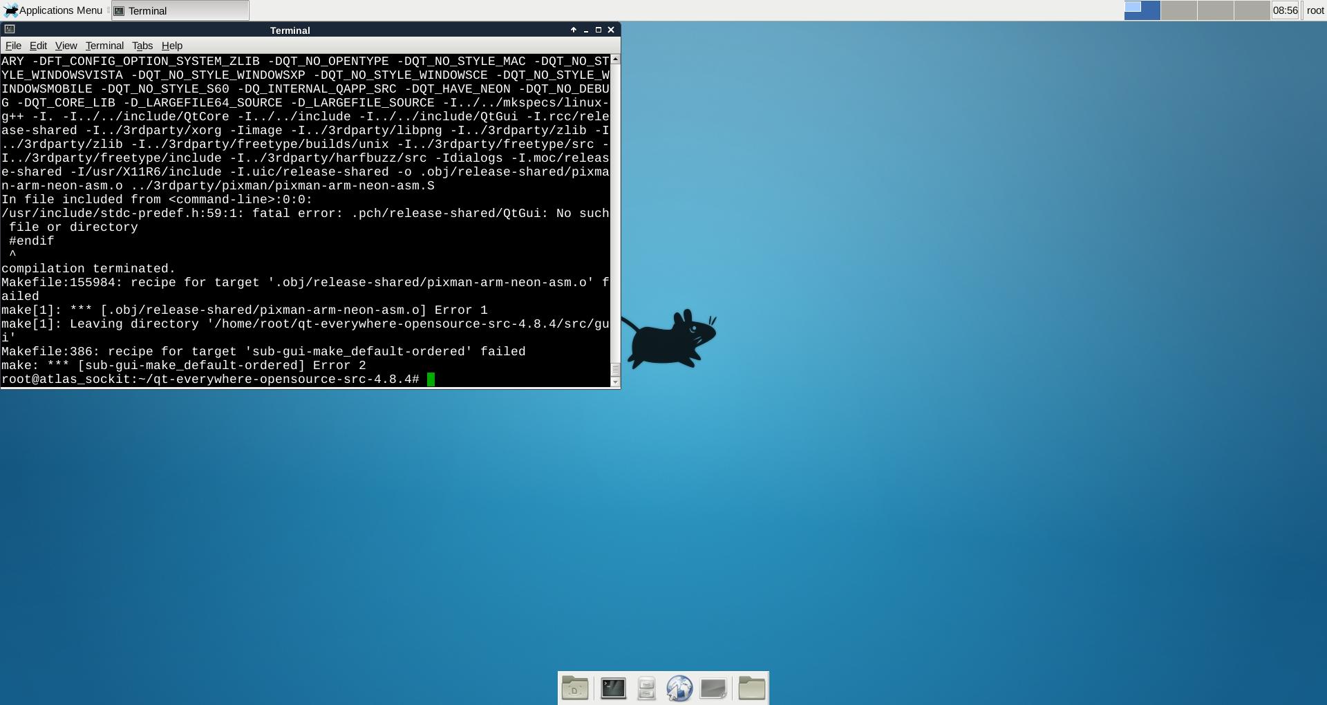 Altera SOC + Angstrom Linux + Qt - Системы на ПЛИС - System