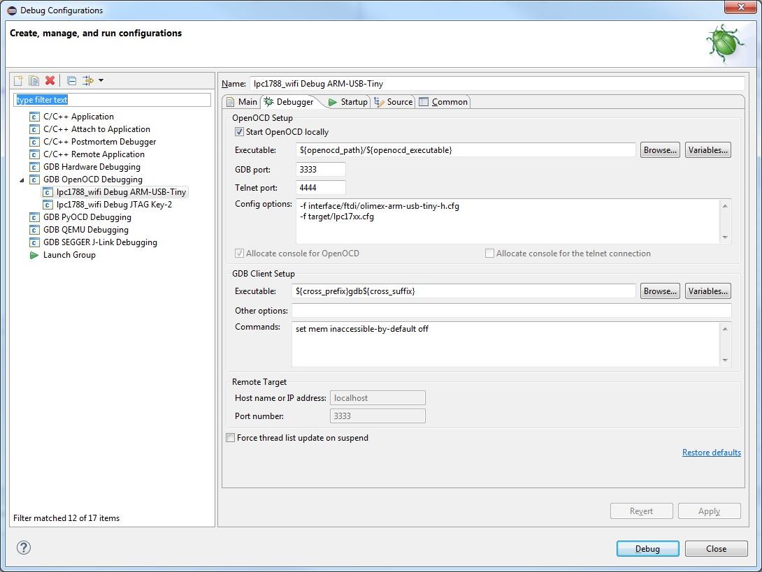 OpenOCD v0 9 0-20150519 - GNU/OpenSource средства разработки