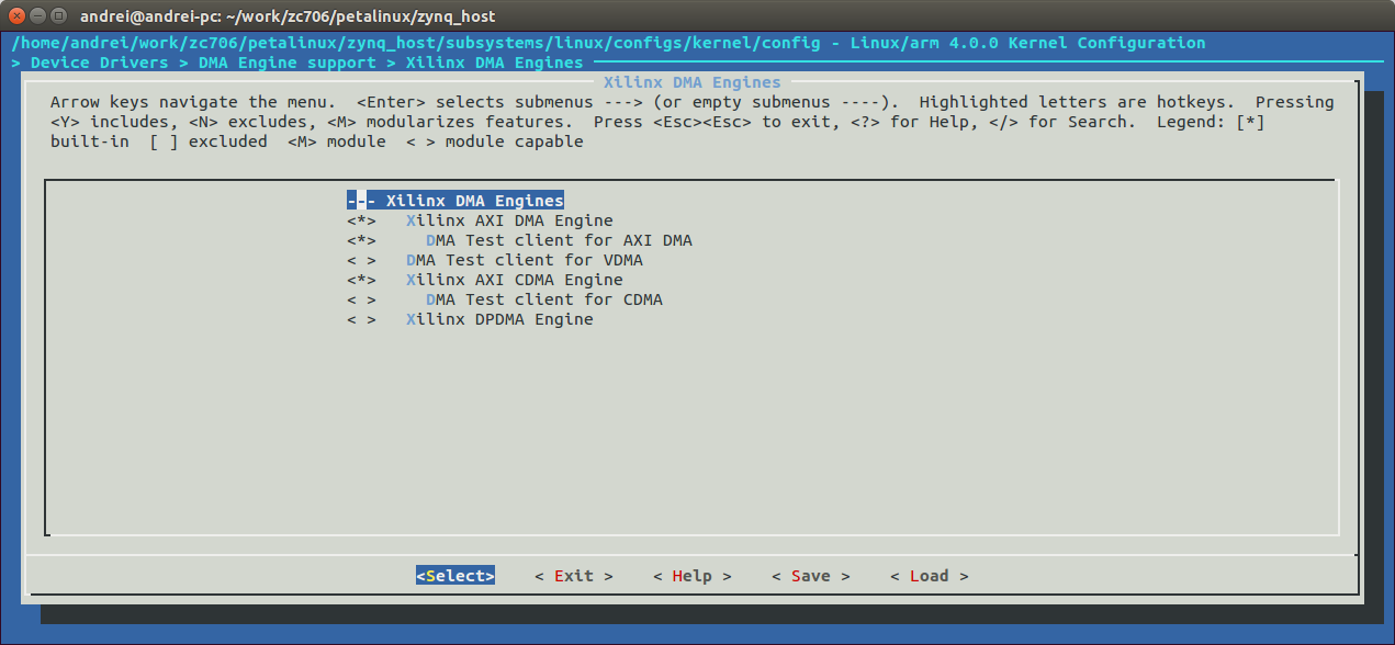 Petalinux  AXI DMA  - Linux - Форум ELECTRONIX