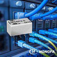 Сигнальные реле Hongfa HFD4/12-SR для поверхностного монтажа доступны со склада в Компэл