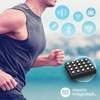 MAX86170B – оптический пульсоксиметр и AFE датчика сердечного ритма в Компэл