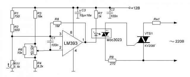 Самодельный терморегулятор LM393.jpeg
